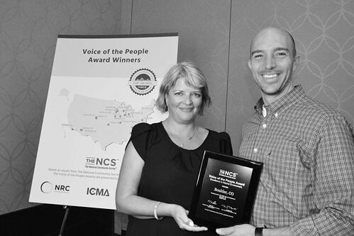 Boulder CO VOP Award Winner for Excellence in Natural Environment
