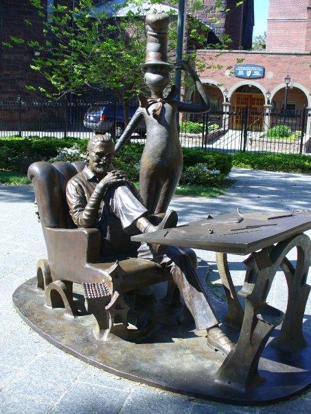 Dr. Seuss Memorial Sculpture Garden