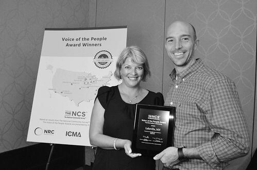 Lakeville MN VOP Award Winner for Transformation in Economy