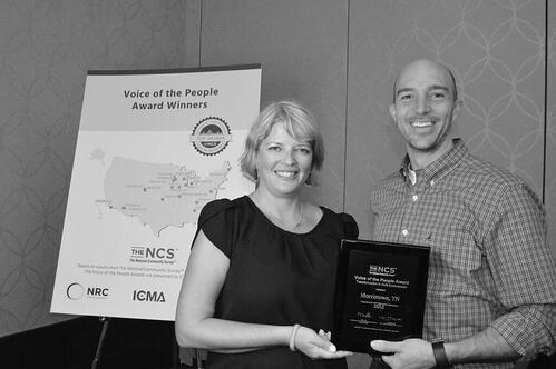 Morristown TN VOP Award Winner for Transformation in Built Environment