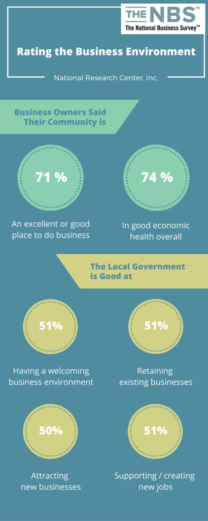 Rating Business Environment Infographic