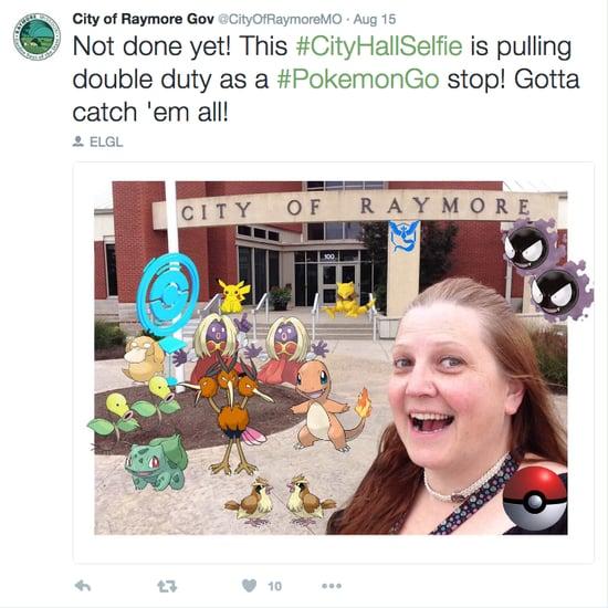 Raymore Pokemon Selfie