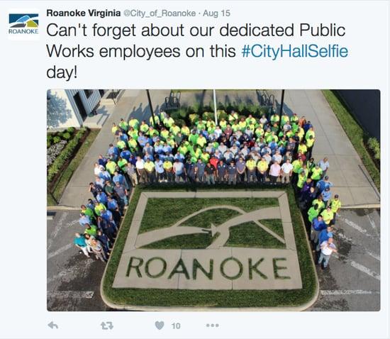 Roanoke Selfie
