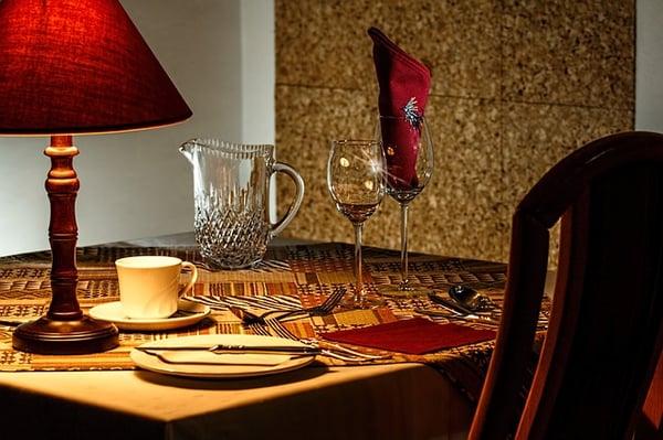 Classy Restaurant Table