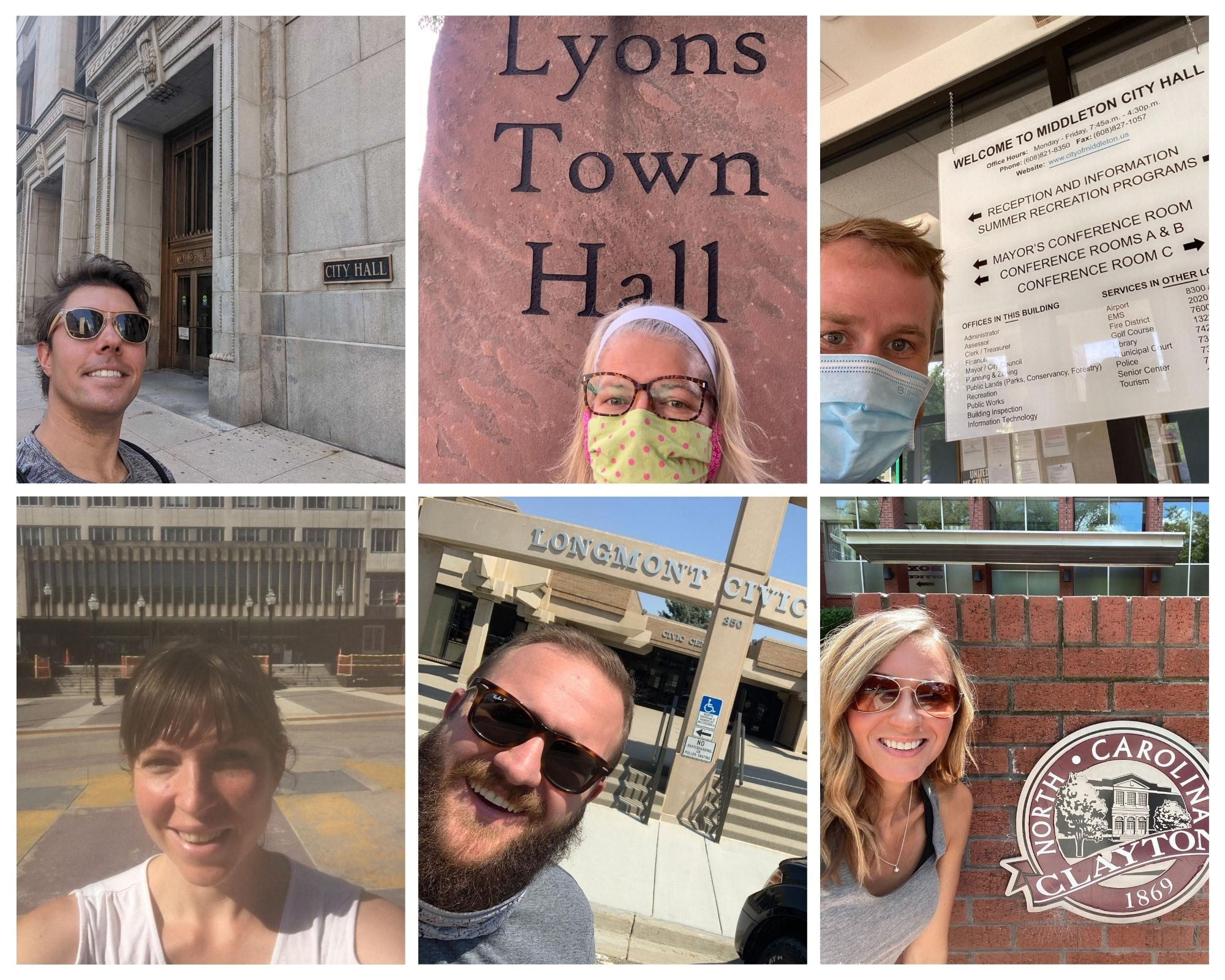Civic Engagement Takes Center Stage on #CityHallSelfie Day