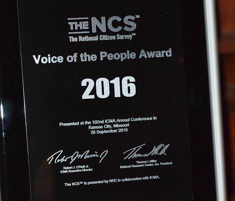 2016 Voice of the People Award Winners Honored