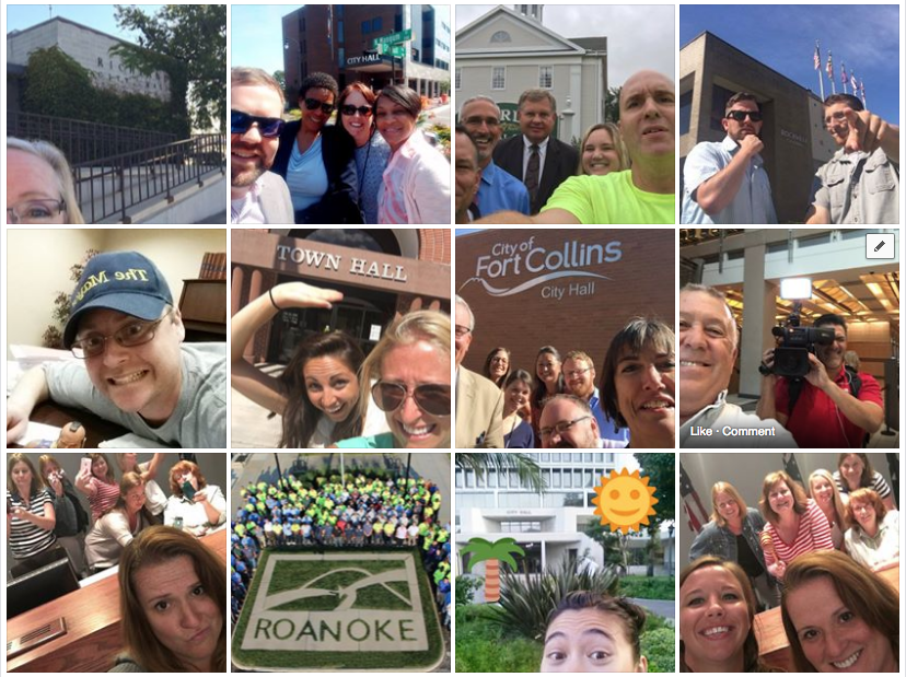 Local Government Goes Viral on City Hall Selfie Day